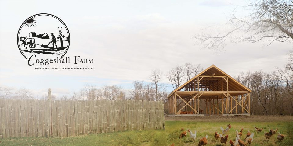 Barn building in process
